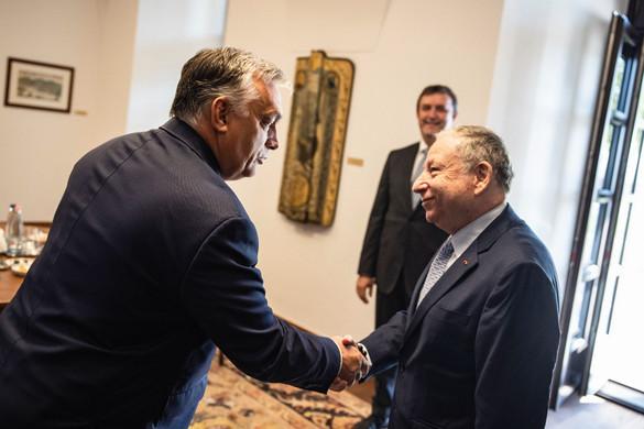 Orbán Viktor fogadta a FIA elnökét