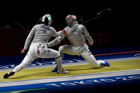Szilágyi Áron magabiztos győzelmekkel kezdte az olimpiát