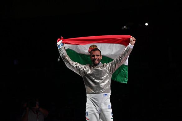 Szilágyi Áron háromszoros olimpiai bajnok