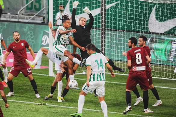 Két góllal nyert a Fradi a BL-selejtezőben