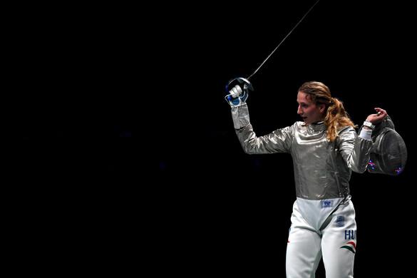 Elképesztő! Márton Anna éremért vívhat az olimpián