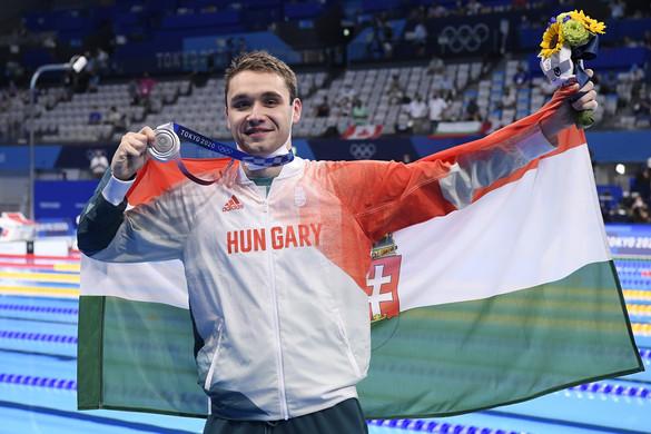 Fantasztikus! Milák Európa-csúccsal ezüstérmes 100 méter pillangón