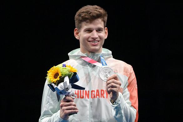 Siklósi Gergely ezüstérmet nyert a tokiói olimpián