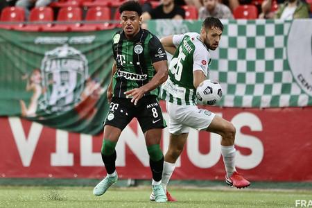 Kettős győzelemmel <br>jutott tovább a Ferencváros <br>a BL-selejtezőben