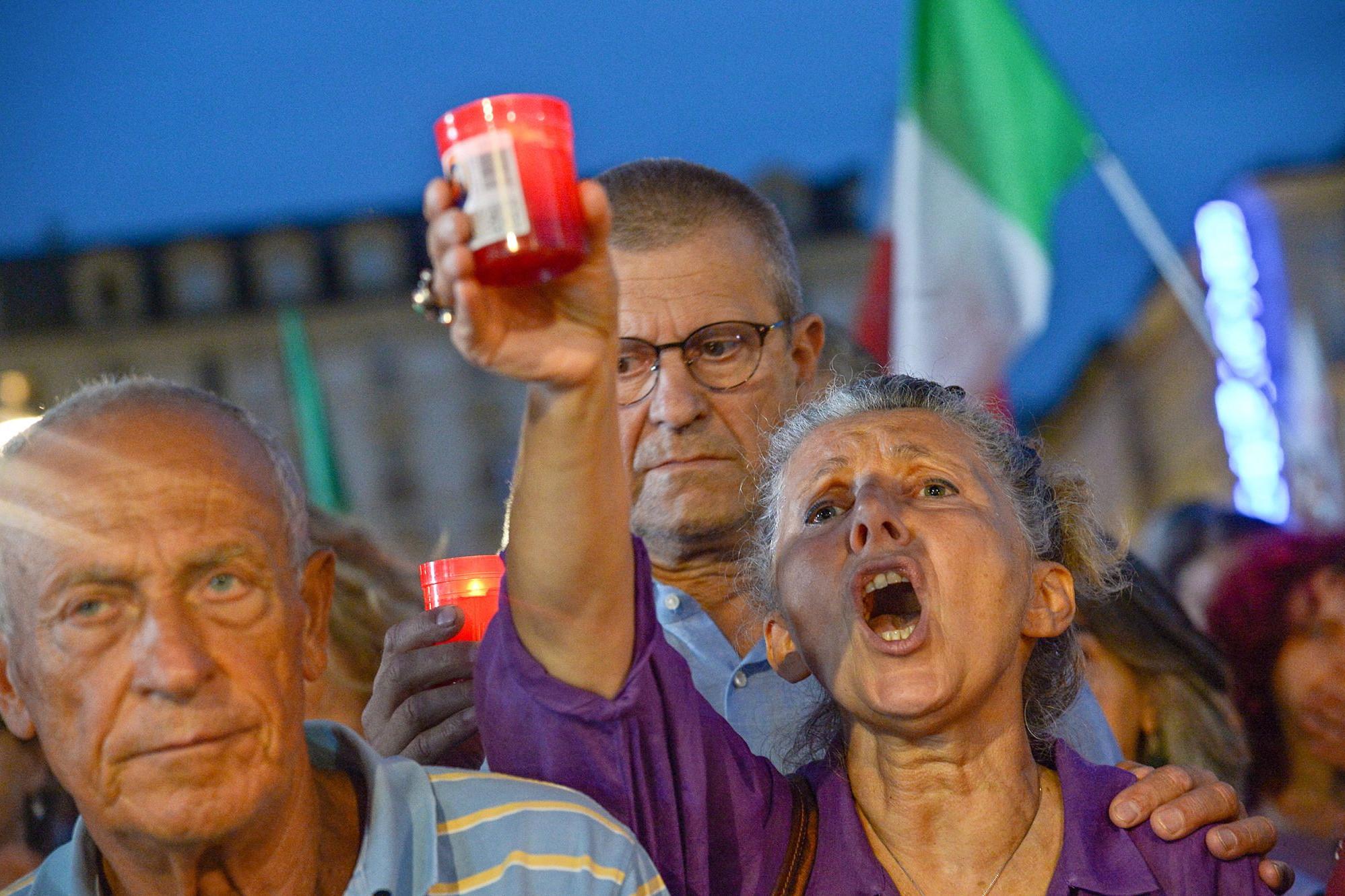 Sokan tüntettek Olaszországban a zöld kártya ellen