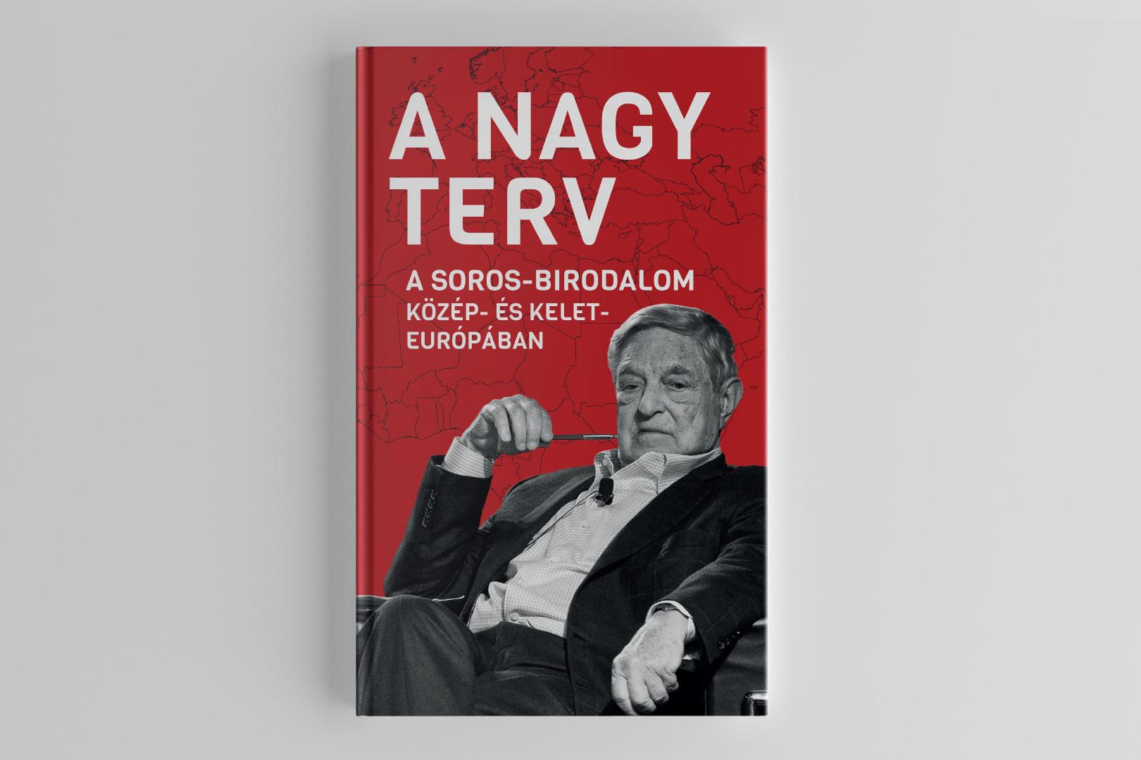 A Nagy Terv - A Soros-birodalom Közép- és Kelet-Európábancímű könyv kapható a Terror Háza Múzeum webshopjában és a könyvesboltokban