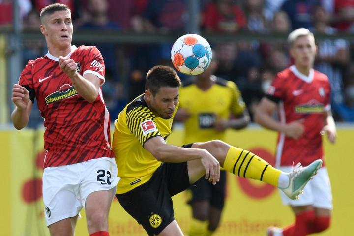 Sallai győztes gólt lőtt a Dortmund ellen