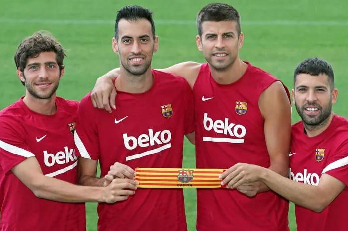 Busquets a Barcelona új csapatkapitánya