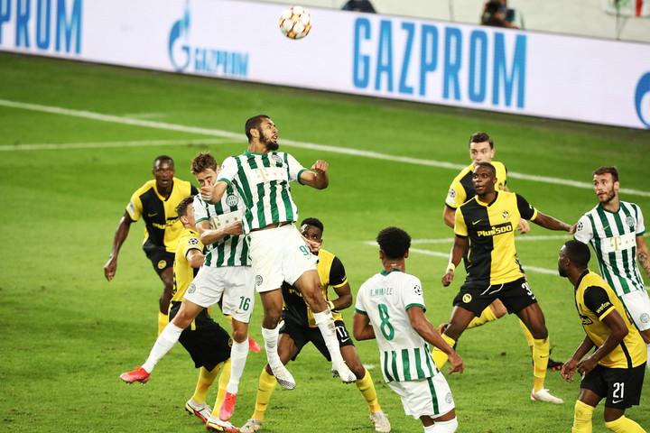 A Fradi hazai pályán is vereséget szenvedett a Young Boys ellen
