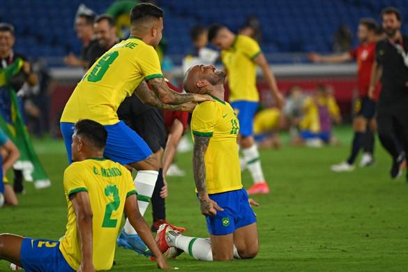Címét megvédve a brazil válogatott nyerte a férfi labdarúgótornát Tokióban