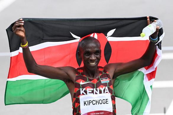 Kipchoge megvédte címét férfi maratonfutásban