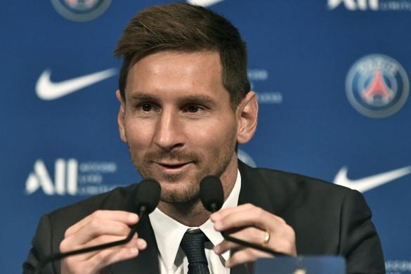 Messi Bajnokok Ligáját akar nyerni a PSG-vel