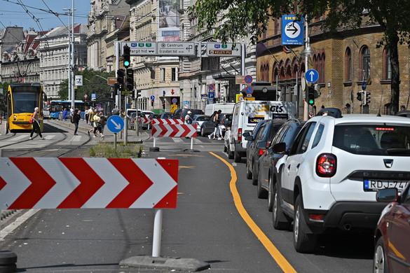 Totális káosz Budapesten