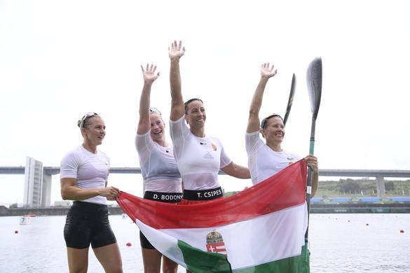 Aranyérem: ismét megvédte címét a magyar női kajaknégyes