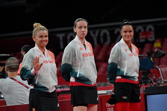 Kiesett a női csapat, befejezték a magyar asztaliteniszezők