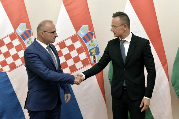 Szijjártó: Magyarország és Horvátország szoros egymásra utaltságban él