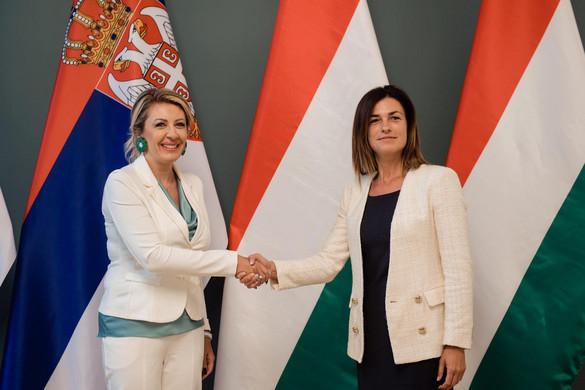 Varga Judit: Közös célok, közös sikerek a magyar-szerb kapcsolatok mentén