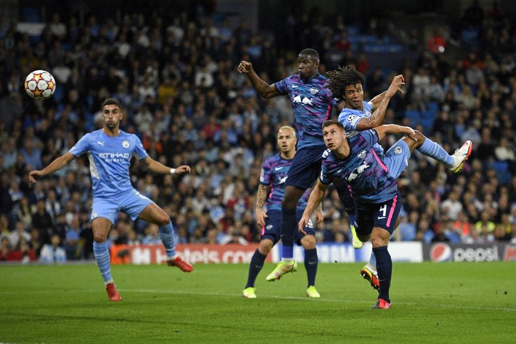 Hat gólt kapott a Manchester City otthonában a Leipzig, Haller mesternégyese