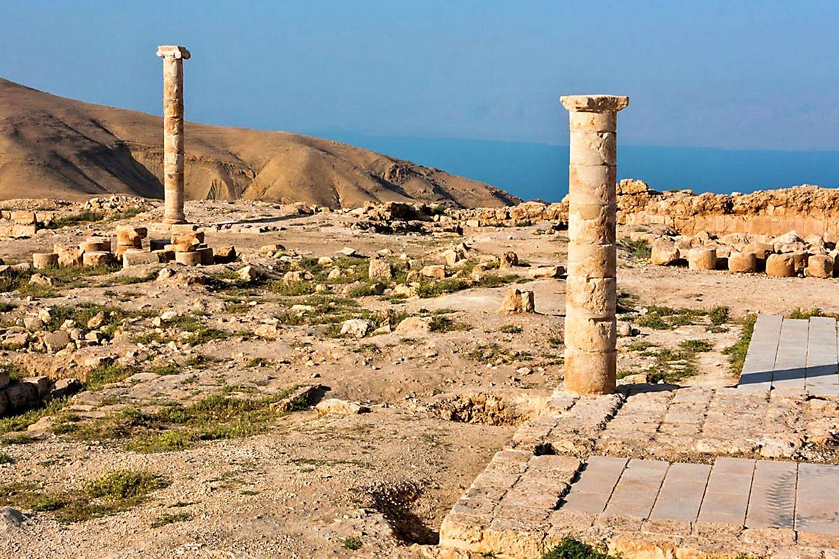 Ahol Salomé táncolhatott: Heródes Antipász tetrarcha palotájának maradványai