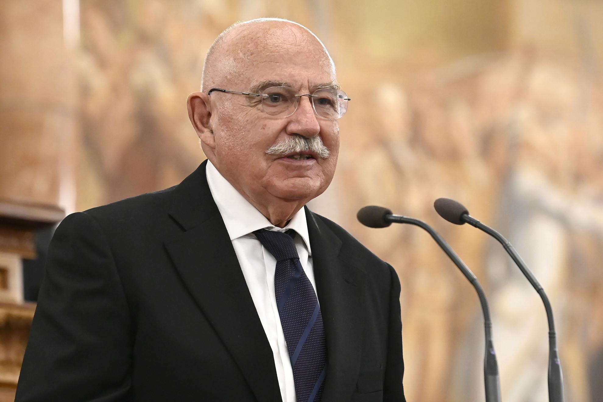Martonyi János volt külügyminiszter, a Magyar Polgári Együttműködés Egyesület (MPPE) tiszteletbeli elnöke