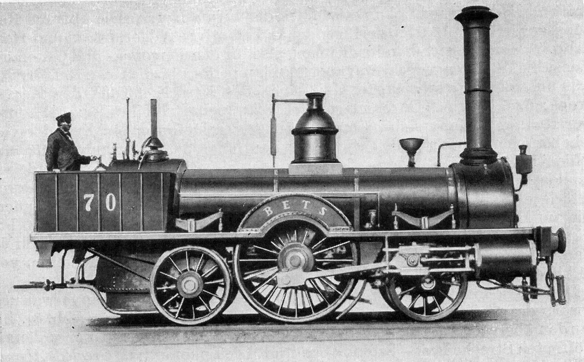 A BETS (Béts) a Magyar Középponti Vasút szerkocsis gőzmozdonya volt, a WRB Mozdonygyára gyártotta 1846-ban. Egyetlen példány készült belőle, előbb  14-es, majd 70-es pályaszámmal futott, 1865-ben leselejtezték