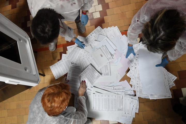 Az orosz kormánypárt megnyerte a parlamenti választást