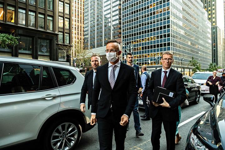 Hét külügyminiszterrel folytatott kétoldalú tárgyalást Szijjártó Péter New Yorkban