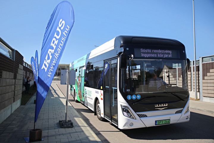 Tisztán elektromos buszt tesztelt az Ikarus