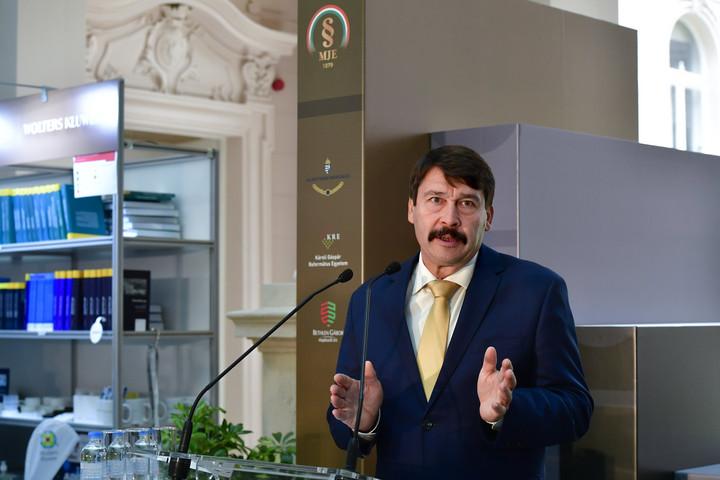 Áder János: A Magyar Jogi Könyvszalon hozzájárulhat közös tudásunk gyarapításához