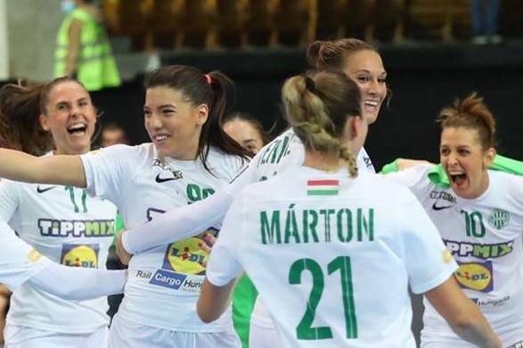Kézilabda: Bravúros győzelmet aratott a Ferencváros Rosztovban