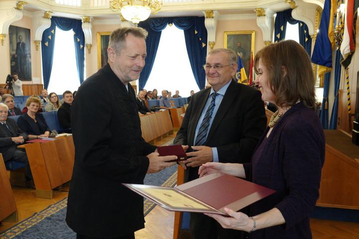 A Bethlen Gábor-díj kitüntetettje: Andrásfalvy Bertalan
