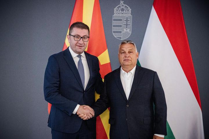 Orbán Viktor: Magyarország támogatja Észak-Macedónia EU-tagságát