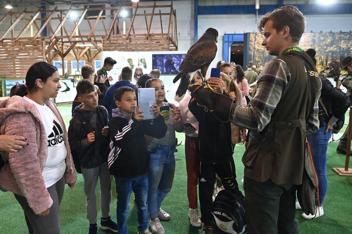 Rengeteg a látogató a Vadászati Világkiállításon