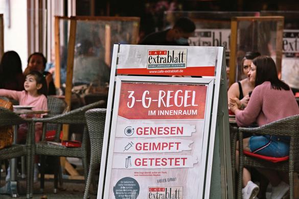 A németeknél bevezetik a 3G-szabályt