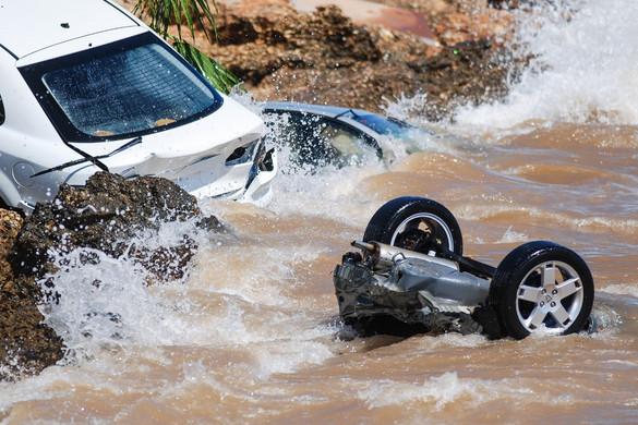 Heves viharok okoztak Spanyolország-szerte áradásokat