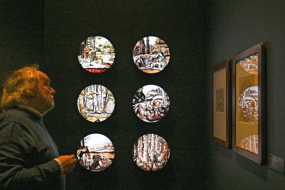 Reneszánsz kori vadászat papíron és üvegen