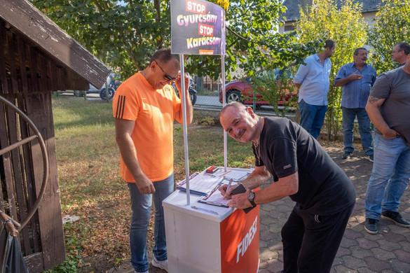Nagy Feró is aláírta a Stop Gyurcsány! Stop Karácsony! petíciót