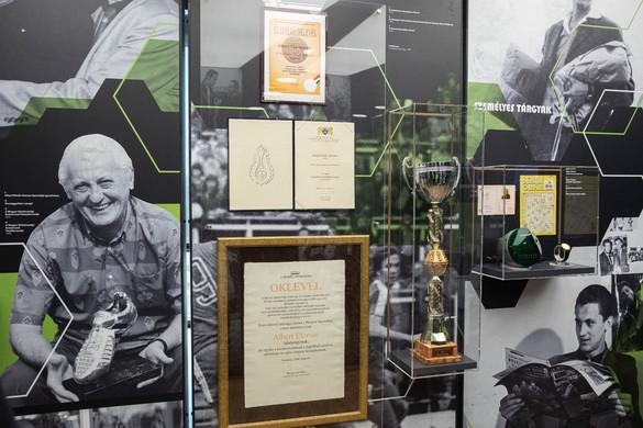 Interaktív kiállítás nyílt Albert Flórián emlékére a Groupama Arénában