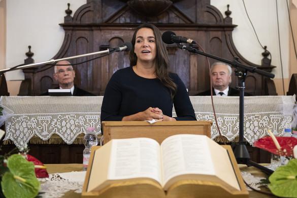 Református elismerést kapott Novák Katalin