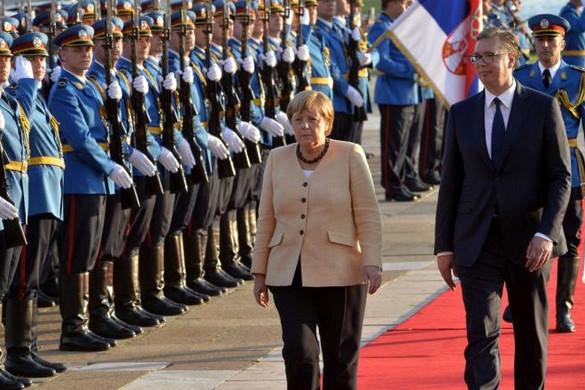 Merkel: A cél a Nyugat-Balkán európai integrációja