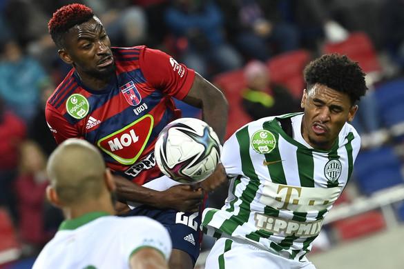 A Ferencváros nyerte a Fehérvár elleni rangadót