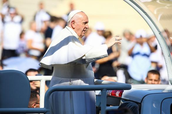 Ferenc pápa útja Európa szívébe