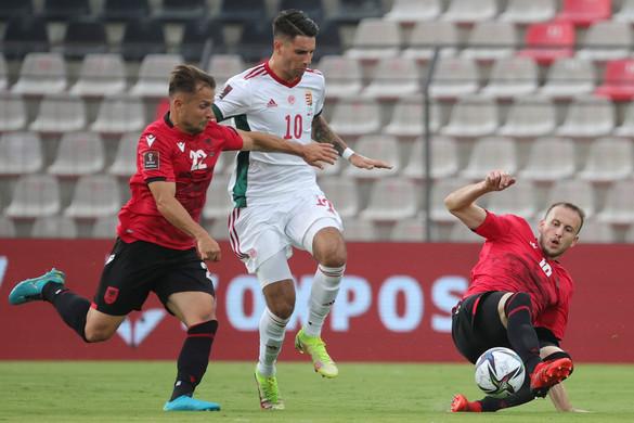 Futball: Kikapott Albániában a magyar válogatott