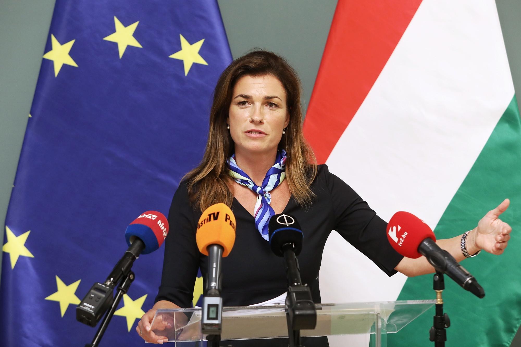 Varga Judit: Magyarország szabad, független ország