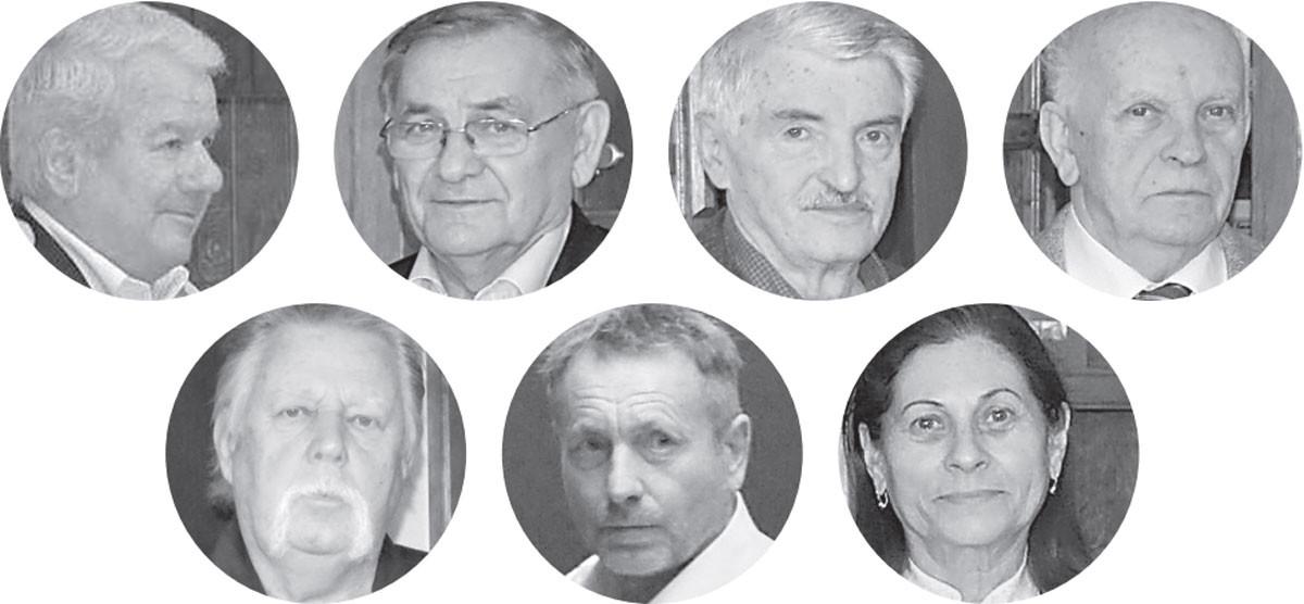 Kiss-Rigó László, Lezsák Sándor, Bakos István, Bíró Zoltán, Gálfalvi György, Kassai Lajos, Lezsákné Sütő Gabriella