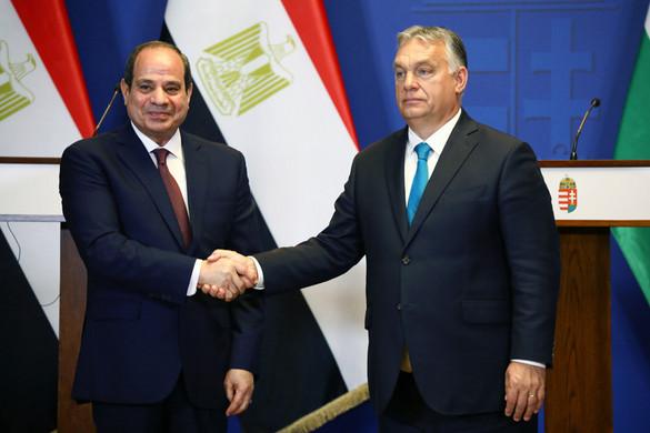 Orbán Viktor: Sorskérdés, hogy Egyiptom meg tudja védeni a határait