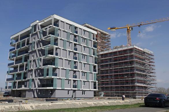 Az uniós élmezőnyben a magyar építkezési kedv