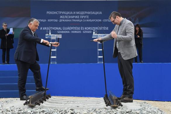 Orbán Viktor: A magyarok és szerbek egy új jövő építésébe kezdtek