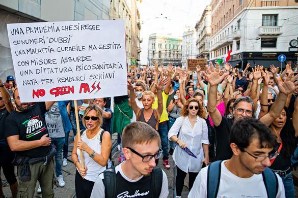 Péntektől csak védettségi igazolvánnyal lehet dolgozni Olaszországban