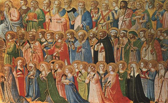 A katolikusok megemlékeznek minden szentről és elhunytról